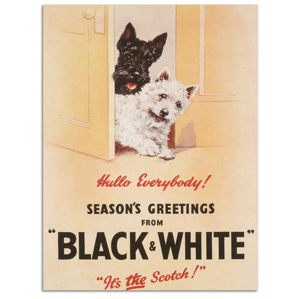 black-white-scotch-whisky-with-scotty-dogs-christmas-advert-for-drink-no-whisky-bottle-old-retro-vintage-advert-for-home-house-metal-steel-wall-sign