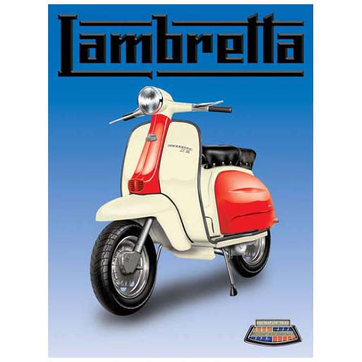 lambretta-red-white-classic-italian-classic-moped-scooter-mod-for-garage-shop-bar-cafe-pub-or-home-metal-steel-wall-sign
