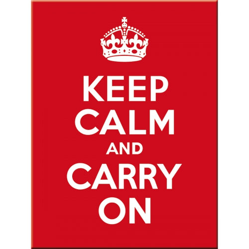 Keep Calm and Carry On 40's 50's 60's Classic Retro Magnet