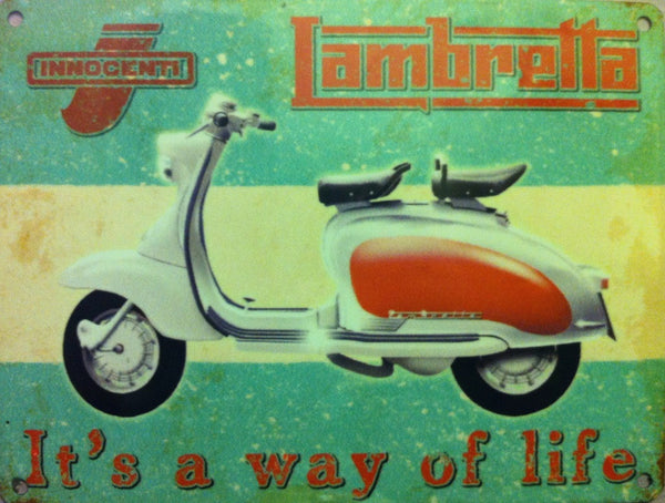 lambretta-way-of-life-innocnti-white-and-red-scooter-moped-for-house-home-garage-or-pub-or-cafe-metal-steel-wall-sign