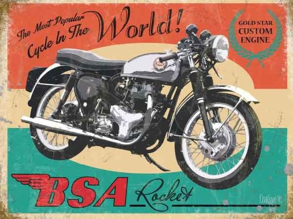 bsa-rocket-british-motor-cycle-bike-the-most-popular-cycle-in-the-world-gold-star-engine-metal-steel-wall-sign