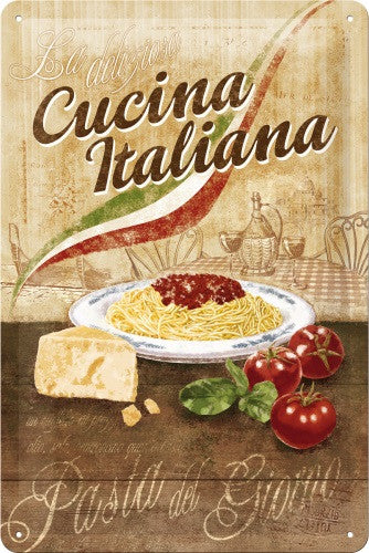 cucina-italiana-pasta-spaghetti-bolognese-parmesan-cheese-tomato-basil-rustic-ideal-for-house-home-restaurant-cafe-coffee-shop-kitchen-cottage-or-holiday-home-food-and-drink-italian-3d-metal-steel-wall-sign
