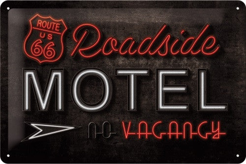 route-66-roadside-motel-neon-american-diner-garage-3d-metal-steel-wall-sign