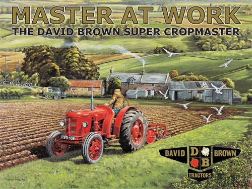 master-at-work-the-david-brown-super-cropmaster-red-tractor-ploughing-field-land-rover-in-background-for-house-farm-pub-or-cafe-metal-steel-wall-sign