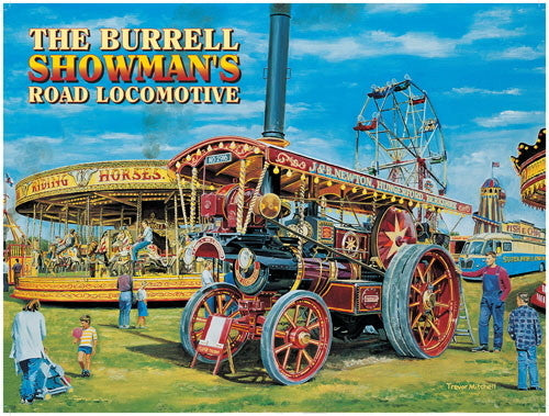the-burrell-showman-s-road-locomotive-steam-traction-engine-for-house-pub-or-cafe-metal-steel-wall-sign