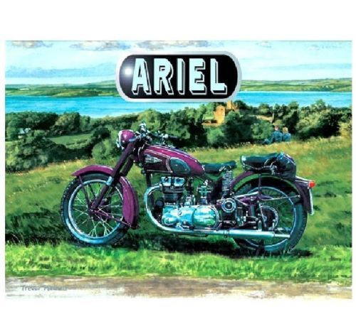 ariel-motor-bike-classic-motor-cycle-painted-in-purple-pictured-in-the-countryside-by-a-lake-landscape-painting-early-20th-century-rocker-bike-metal-steel-wall-sign