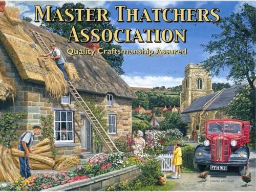 thatched-cottage-building-old-vintage-classic-lorry-truck-master-thatcher-s-association-for-house-home-kitchen-cafe-or-pub-metal-steel-wall-sign