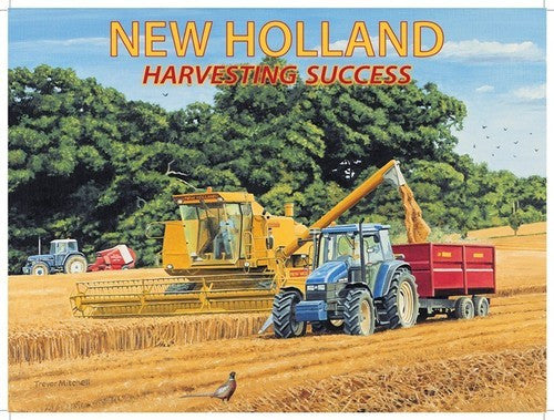 new-holland-modern-tractor-and-combine-harvester-harvesting-crop-with-tractors-corn-barley-etc-hay-for-house-farm-pub-or-bar-metal-steel-wall-sign
