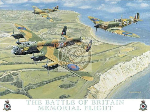 battle-of-britain-spitfire-aeroplane-lancaster-bomber-raf-metal-steel-wall-sign