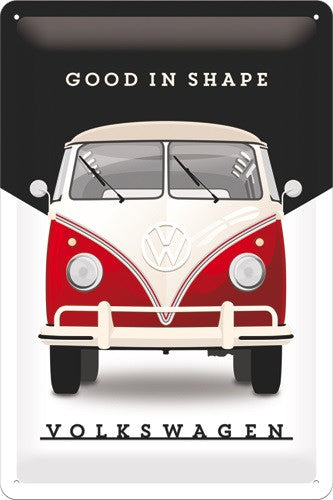 vw-good-in-shape-old-volkswagen-camper-van-garage-3d-metal-steel-wall-sign
