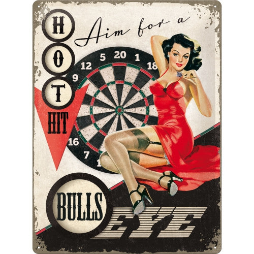 bulls-eye-darts-retro-pinup-girl-pub-bar-man-cave-3d-metal-steel-wall-sign