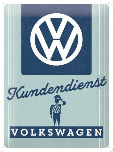 vw-kundendienst-volkswagen-customer-service-garage-3d-metal-steel-wall-sign
