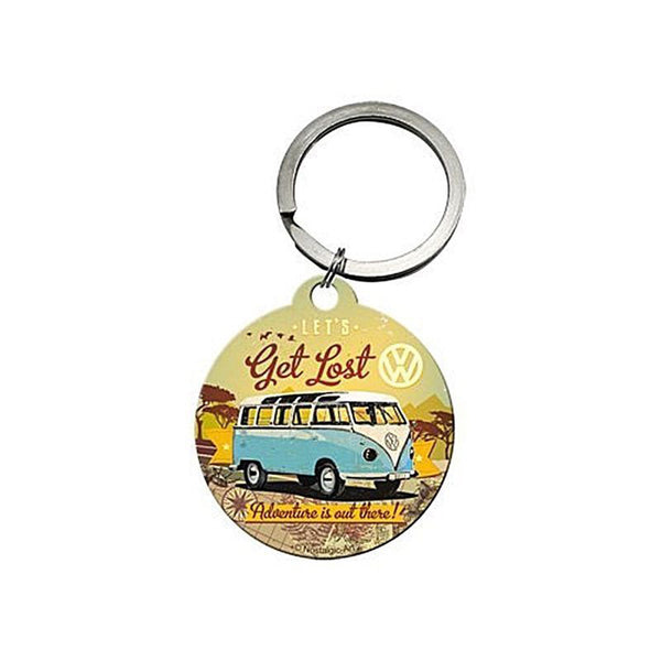 let-s-get-lost-be-prepared-to-start-your-own-adventure-vw-campervan-bulli-blue-white-split-screen-splitty-transporter-volkswagen-keyring