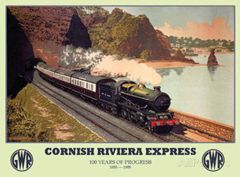 cornish-riviera-express-gwr-train-locomotive-steam-on-the-cornish-coast-flying-scotsman-for-house-home-bar-pub-or-club-old-retro-vintage-advert-metal-steel-wall-sign