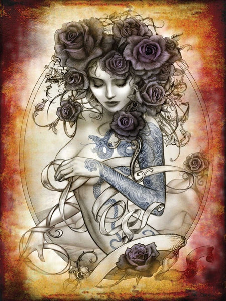 tattoo-rose-alchemy-sexy-topless-woman-with-tattoos-roses-for-hair-drawing-ideal-for-garage-bar-pub-tattoo-parlour-or-shop-metal-steel-wall-sign