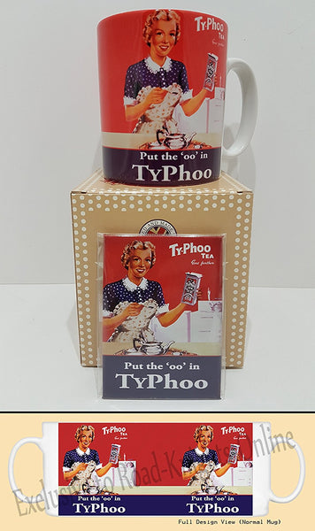vintage-food-drink-typhoo-tea-girl-cafe-kitchen-tea-coffee-mug-magnet-gift-set