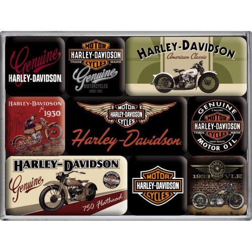 9-piece-harley-davidson-bike-collection-kitchen-fridge-magnet-gift-set