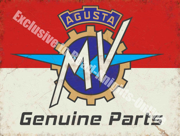 agusta-mv-genuine-parts-motorcycle-garage-vintage-metal-steel-wall-sign