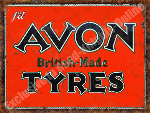 avon-tyres-british-made-rusty-vintage-garage-metal-steel-wall-sign