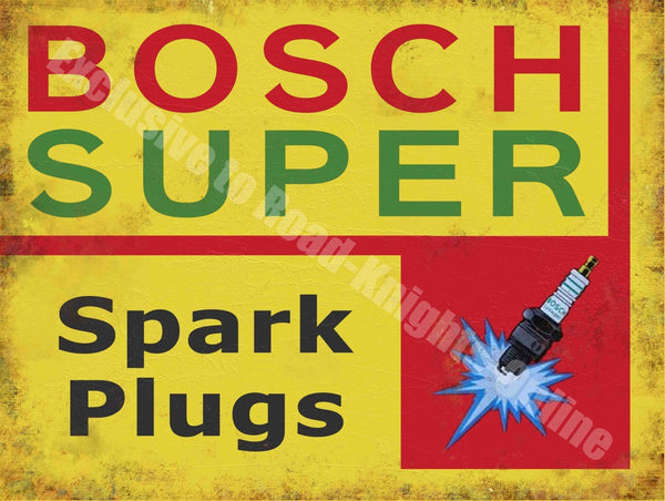 bosch-super-spark-plugs-vintage-garage-metal-steel-wall-sign