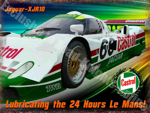 castrol-jaguar-xjr10-race-car-le-mans-metal-steel-wall-sign