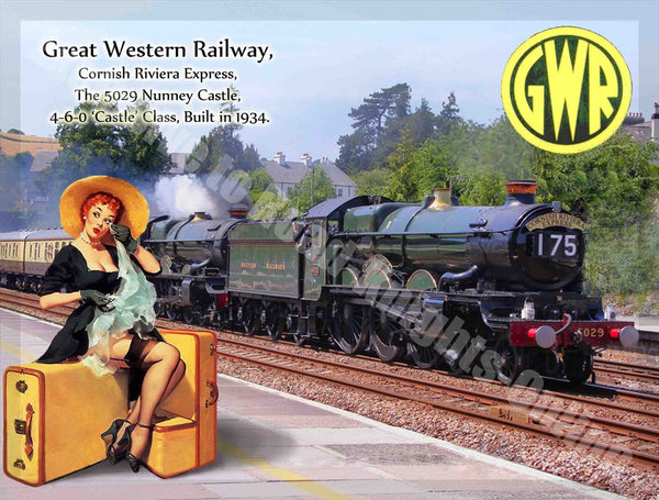 cornish-riviera-steam-train-station-pin-up-girl-vintage-metal-steel-wall-sign
