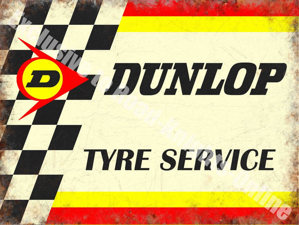 dunlop-tyre-service-motorsport-motor-retro-vintage-racing-garage-metal-steel-wall-sign