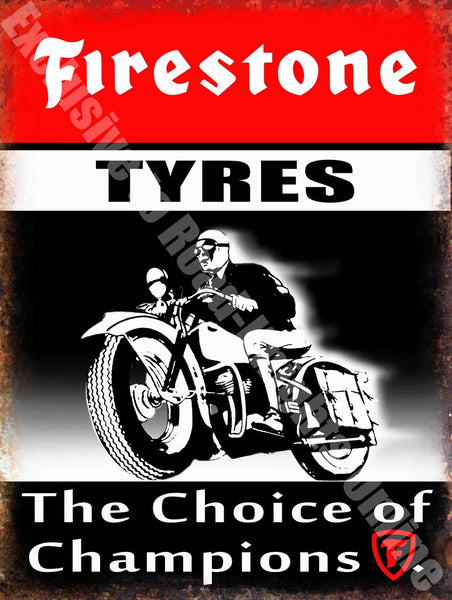 firestone-tyres-the-choice-of-champions-car-bike-vintage-garage-metal-steel-wall-sign