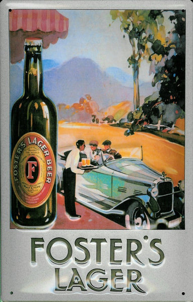 foster-s-lager-car-draught-bottle-beer-drink-pub-3d-metal-steel-wall-sign