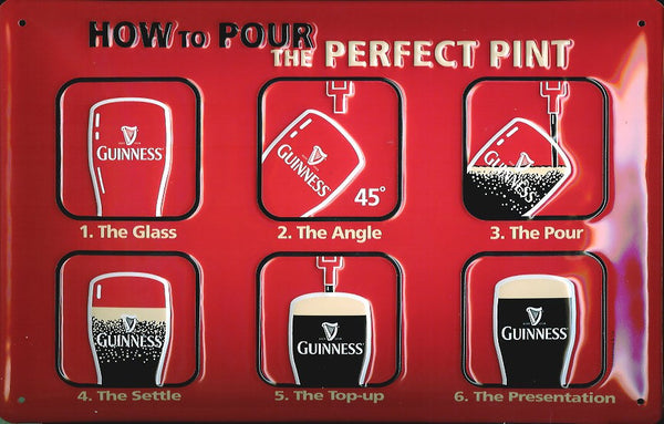 guinness-perfect-pint-beer-drink-pub-bar-hotel-inn-3d-metal-steel-wall-sign