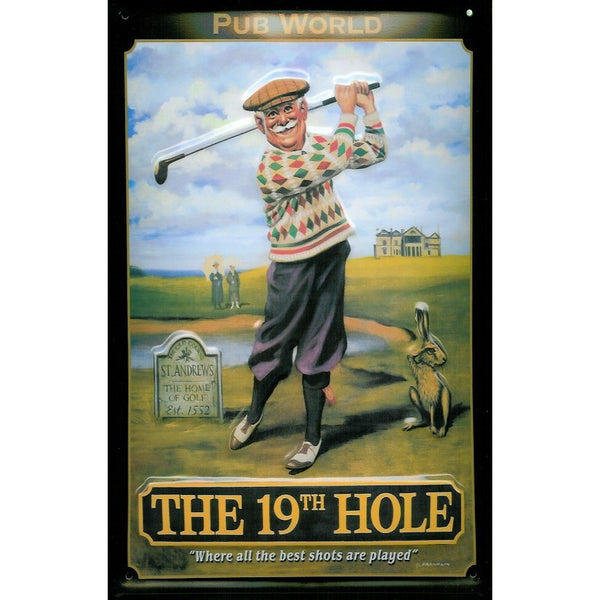 golf-19th-hole-st-andrews-golf-club-pub-bar-funny-3d-metal-steel-wall-sign