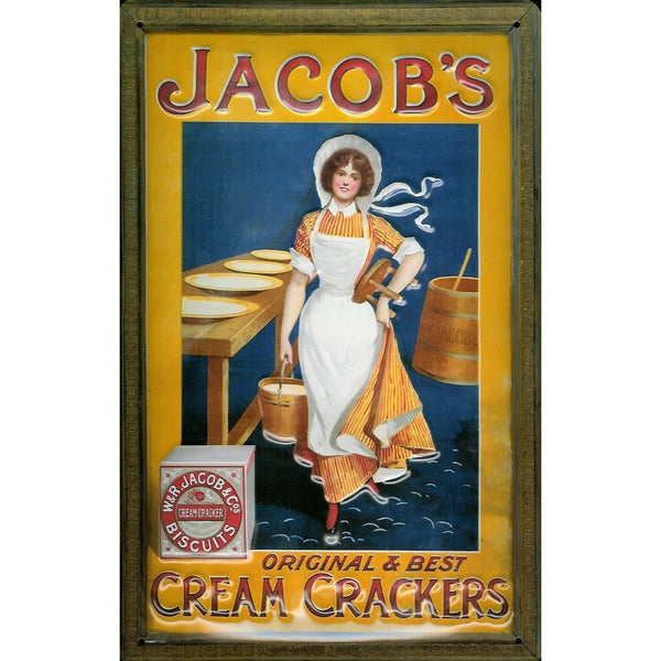 jacob-s-crackers-biscuit-maid-vintage-advertising-3d-metal-steel-wall-sign