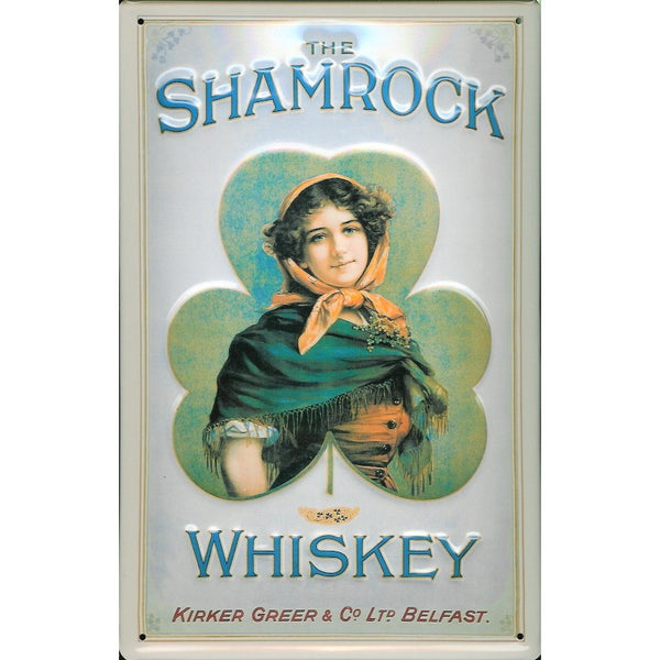shamrock-irish-whiskey-drink-pub-bar-advertising-3d-metal-steel-wall-sign