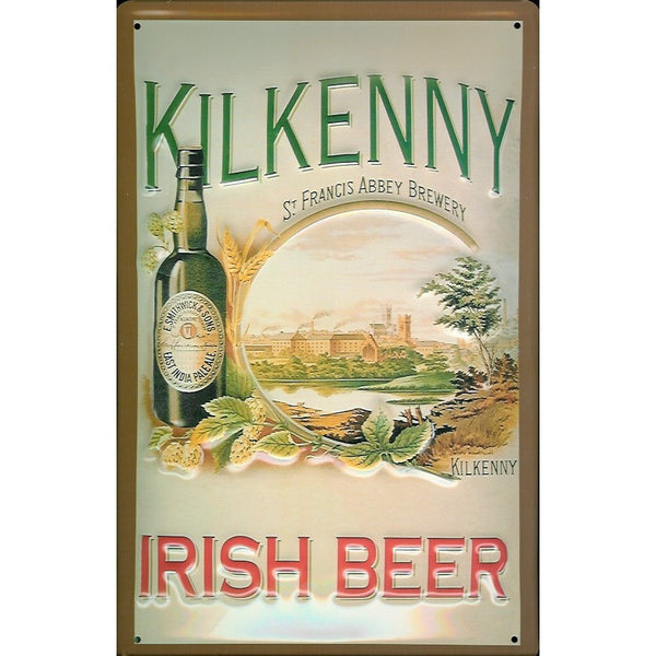 kilkenny-brewery-irish-beer-drink-pub-bar-advert-3d-metal-steel-wall-sign