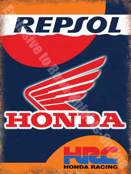 honda-repsol-hrc-racing-team-garage-metal-steel-wall-sign