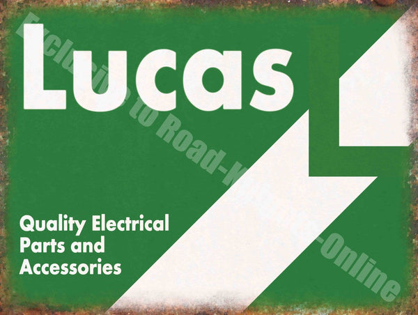 lucas-quality-electrical-parts-accessories-vintage-garage-metal-steel-wall-sign