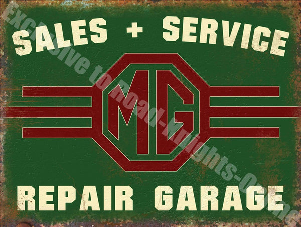 mg-sales-service-repair-garage-vintage-car-advert-metal-steel-wall-sign