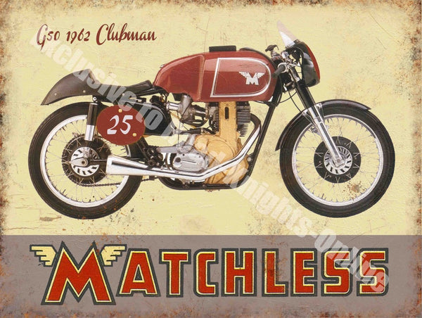 matchless-g50-clubman-motorcycle-vintage-garage-metal-steel-wall-sign