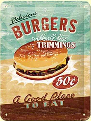 delicious-burgers-kitchen-food-cafe-diner-bistro-retro-3d-metal-steel-wall-sign