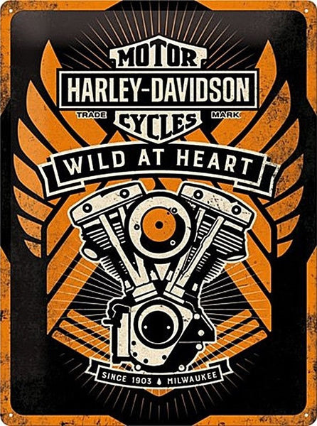 harley-davidson-motorcycles-engine-wild-at-heart-3d-metal-steel-wall-sign