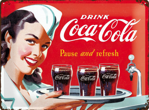 coca-cola-drink-waitress-50-s-retro-diner-bar-cafe-3d-metal-steel-wall-sign