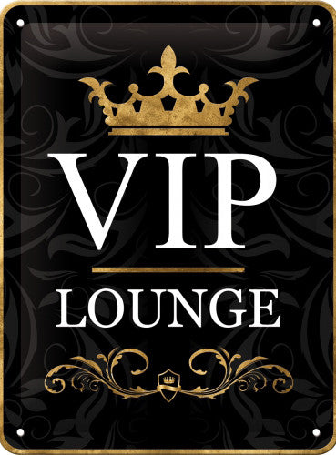 Vip Lounge Black Bedroom Door Room Man Cave Retro 3d