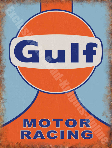 Motor Racing Team Motorsport Garage Classic Metal/Steel Wall Sign