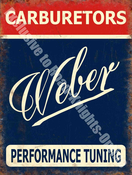 weber-carburettors-performance-uk-sign-writing-red-blue-and-white-motorcar-old-retro-vintage-rally-car-motor-sport-tuned-ideal-for-house-home-garage-bar-or-pub-ford-cars-metal-steel-wall-sign