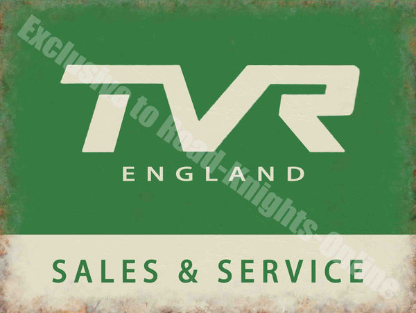 tvr-england-sales-service-vintage-garage-sports-car-metal-steel-wall-sign