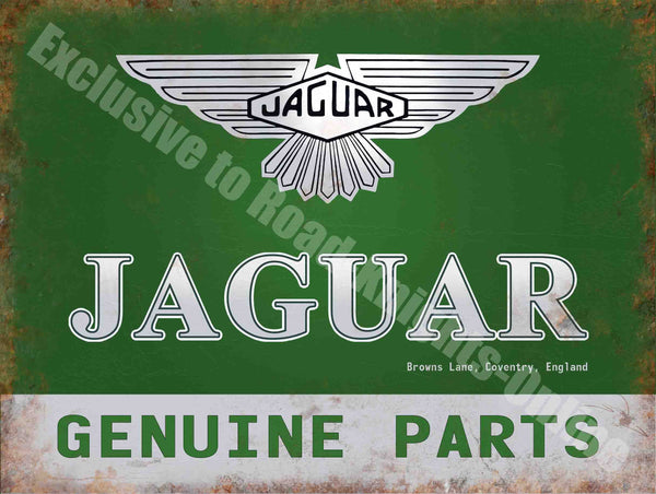 jaguar-genuine-parts-185-vintage-garage-car-advertising-metal-steel-wall-sign