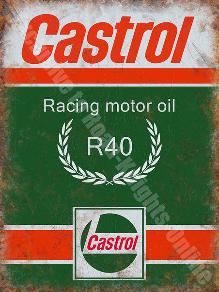 castrol-r-racing-motor-oil-200-petrol-old-vintage-garage-metal-steel-wall-sign