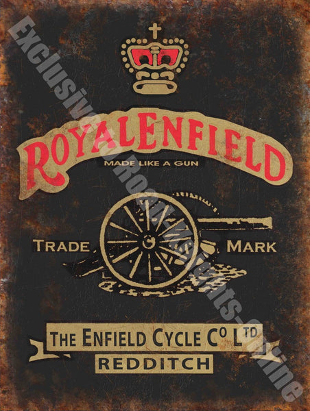royal-enfield-motorcycles-vintage-garage-metal-steel-wall-sign