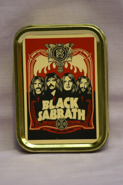 black-sabbath-ozzy-osbourne-black-and-white-picture-of-the-band-on-red-background-british-rock-band-logo-gold-sealed-lid-2oz-tobacco-storage-tin