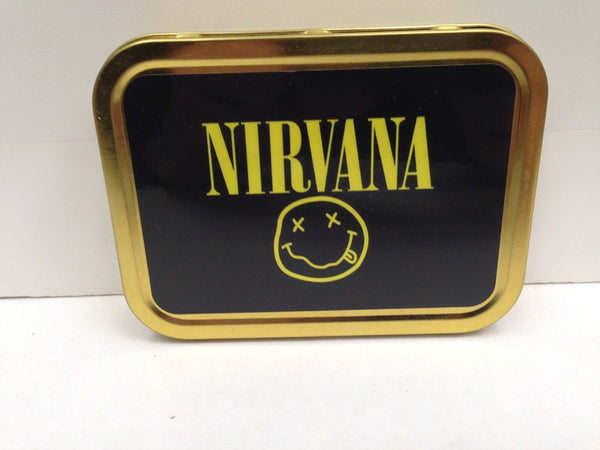 nirvana-smiley-face-with-tongue-90-s-grunge-band-kurt-cobain-nevermind-gold-sealed-lid-2oz-tobacco-storage-tin